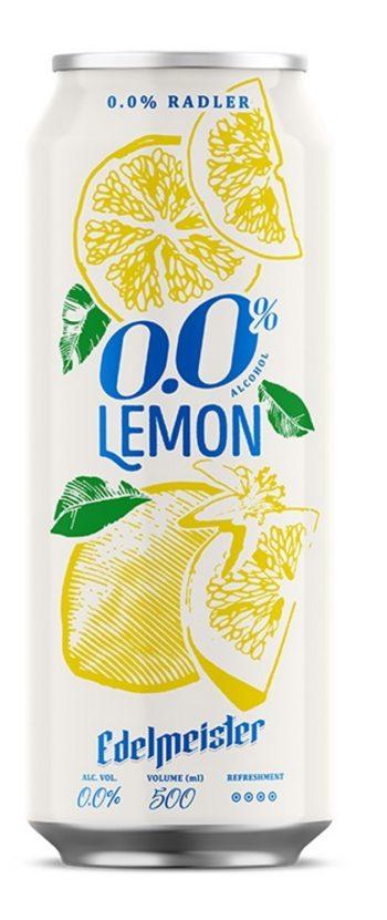 Edelmeister Radler Lemon Alcohol-Free 50cl CAN