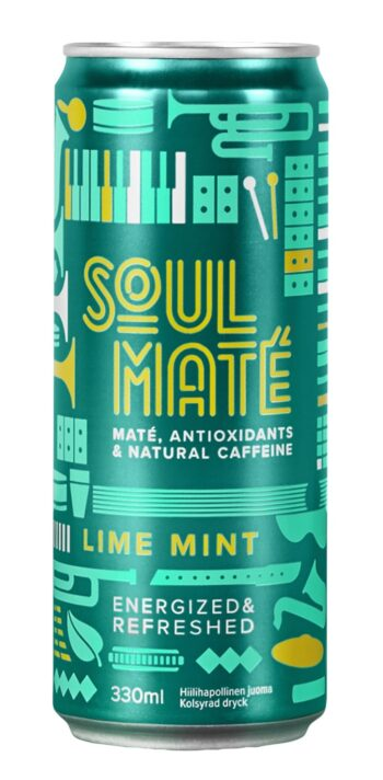 Soul Mate Lime Mint 33cl CAN