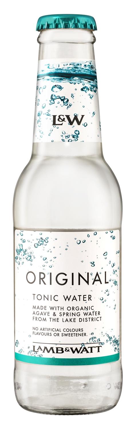 Lamb & Watt Organic Tonic Water Original 20cl