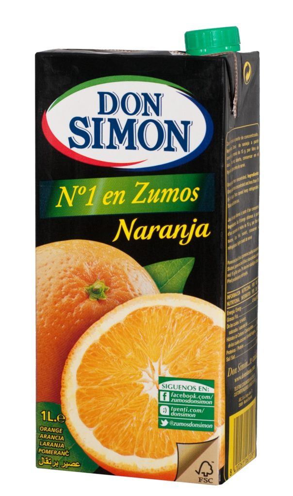 Don Simon Apelsinimahl 100cl tetra