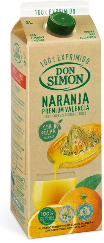 Don Simon 100% apelsinimahl viljalihaga 200cl tetra