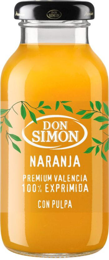 Don Simon 100% apelsinimahl viljalihaga (klaaspdl) 20cl