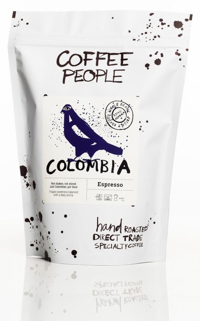 Coffee People Kohviuba Colombia Organic Espresso 500g