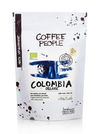 Coffee People Jahvatatud Colombia Organic Hele Röst 250g