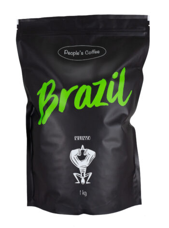 People's Coffee Kohviuba Espresso Brazil 1000g