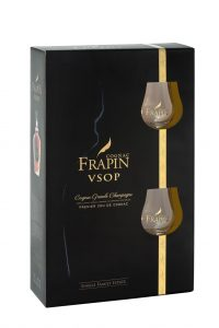 Frapin VSOP giftbox with 2 glasses