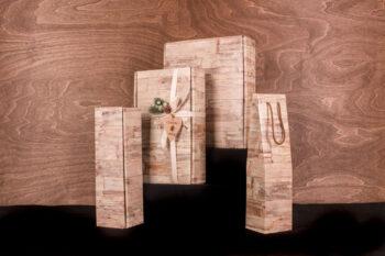 Подарочная коробка на 2 бутылки