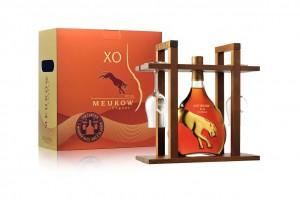 Meukow XO 70cl kinkekomplekt small