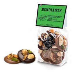 Michel Cluizel šokolaadidiskid pähklitega