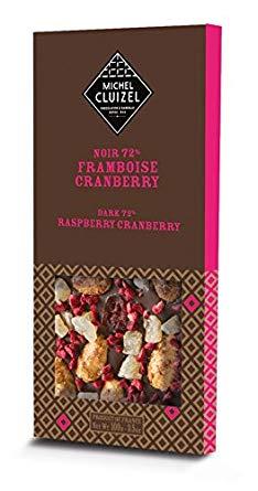 Michel Cluizel Framboise & Cranberry 72% 100g