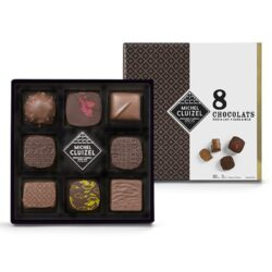 Michel Cluizel kinkekarp 8 šokolaadiga
