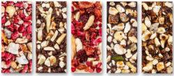 Michel Cluizel minišokolaadike pähklite ja puuviljadega