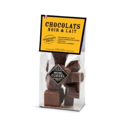 Michel Cluizel tume ja hele šokolaadiassortii