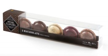Michel Cluizel šokolaadist makroonid 60g